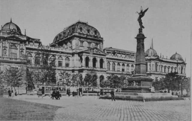 L'Università di Vienna a inizio '900