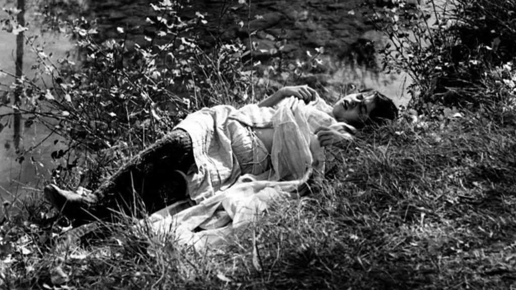 Frame from 'Mouchette' (1967)