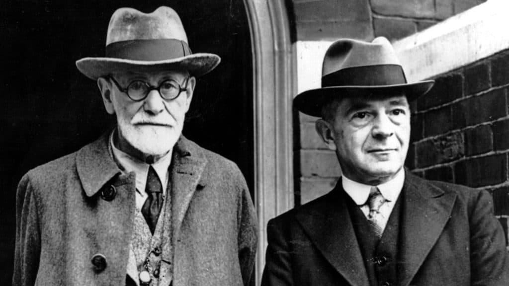 Sigmund Freud and Ernest Jones