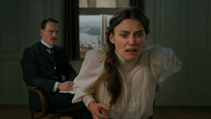 Un frame dal film 'A dangerous method