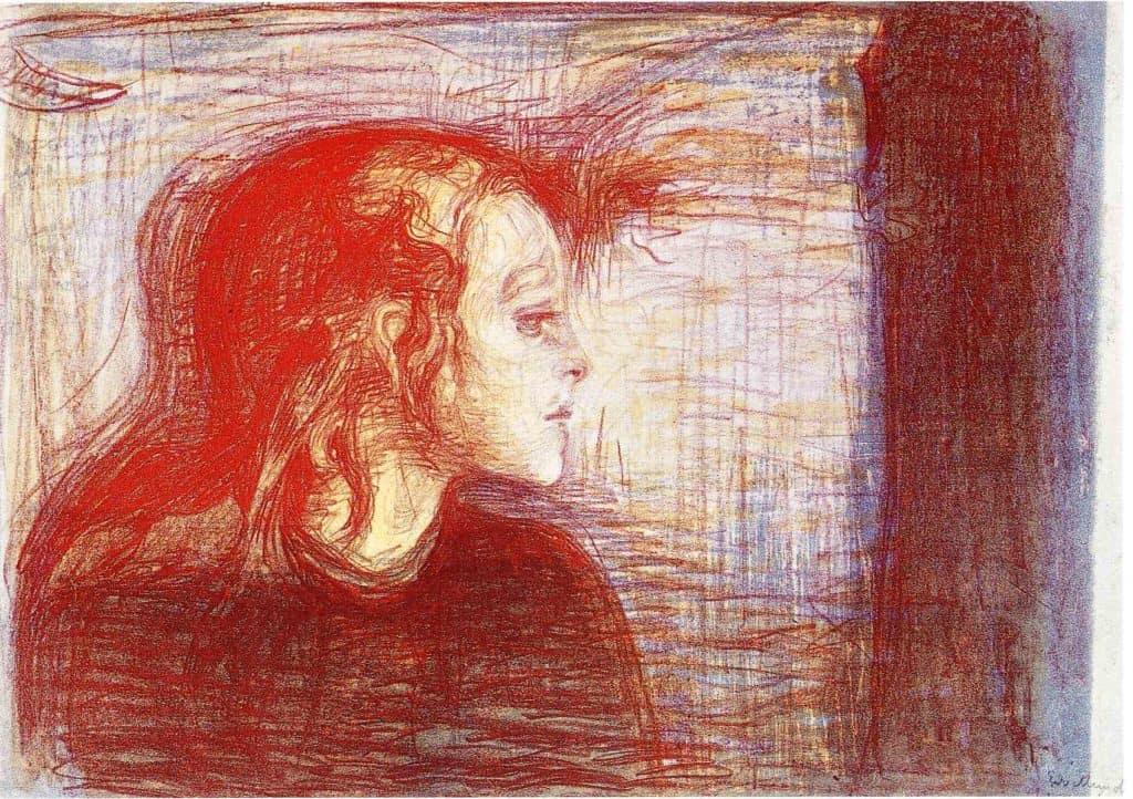 Edvard Munch - The Sick Child II (1896)