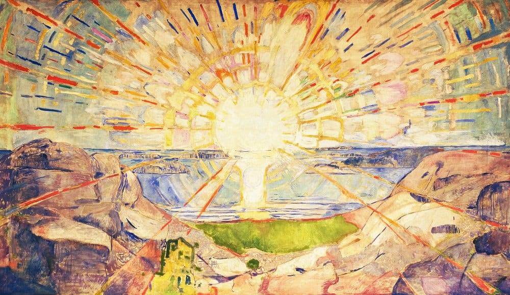 Edvard Munch, The sun (1909)