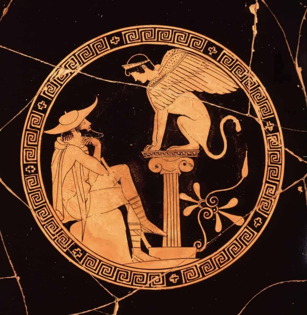 Edipo e la Sfinge di Tebe