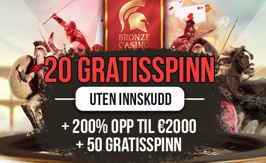 Bronze casino bonus