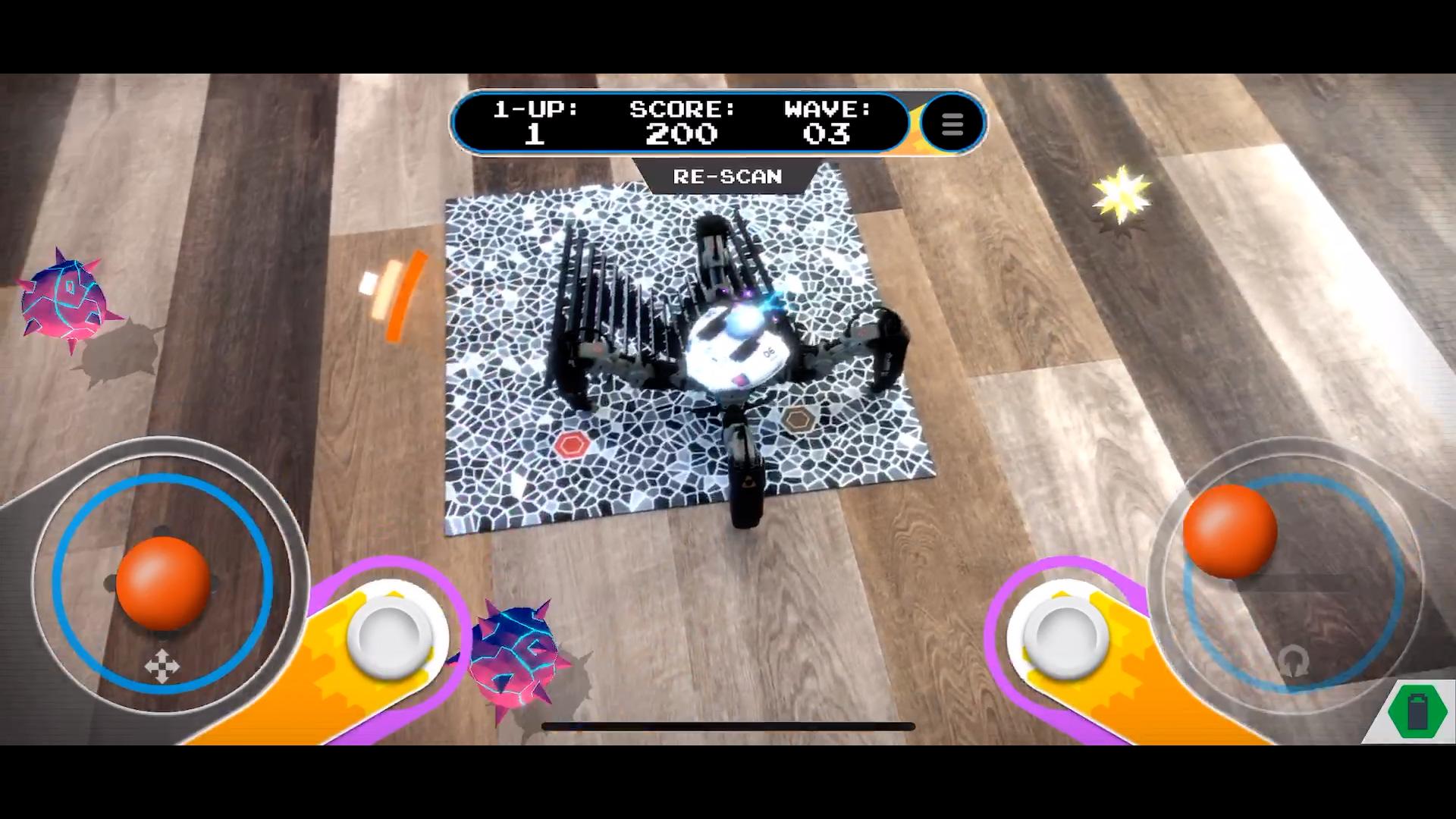 MekaMon Meteoroids gameplay
