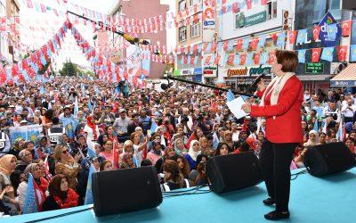Meral Akşener Nevşehir'de!