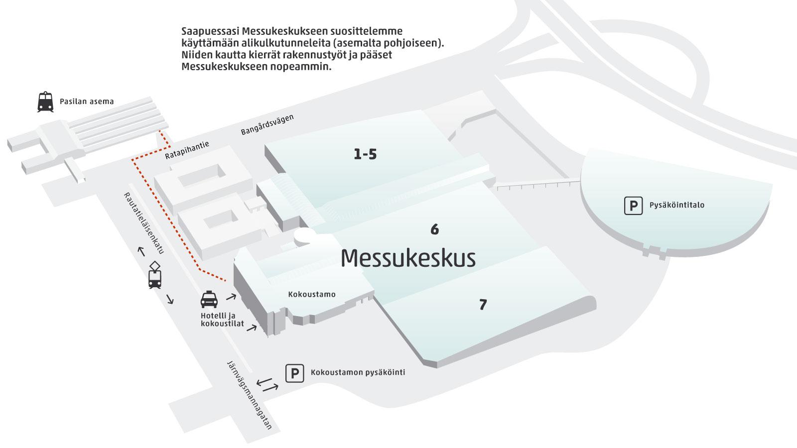 Tulo Ohjeet Messukeskus Helsinki