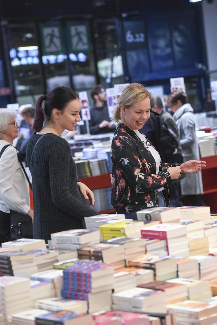 Uudet kävijät löysivät Helsingin Kirjamessut