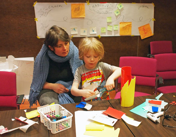 Habi Kids rakentuu lasten suunnitelmien pohjalta