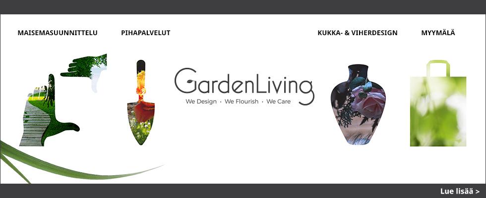 GardenLiving Viherstudio ja lifestyle-myymälä avataan Espoon Mankkaalle