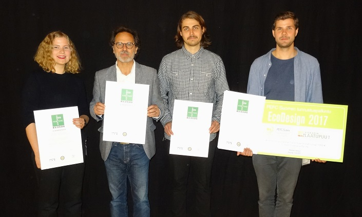 EcoDesign-palkinto jaettiin Habitaressa kahdelle suunnittelijalle
