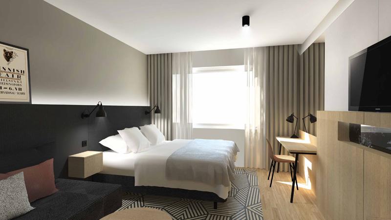 Huoneet, hotelliuudistus