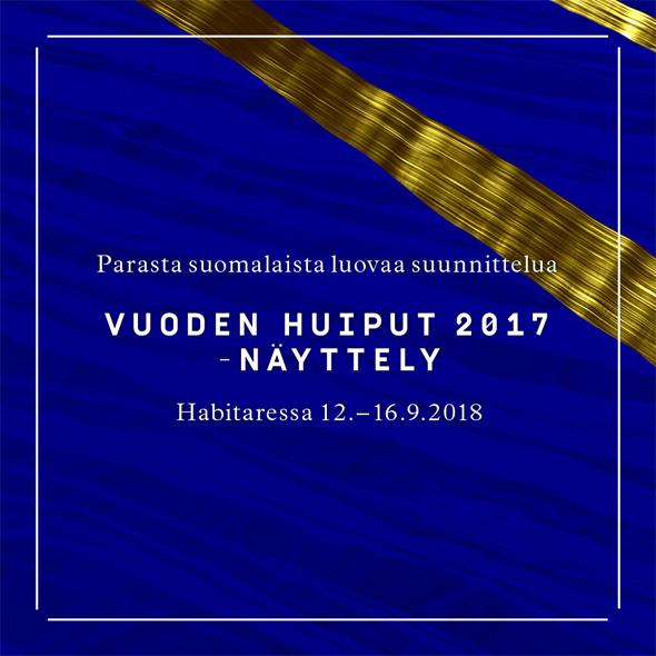 Vuoden Huiput -näyttely Habitareen