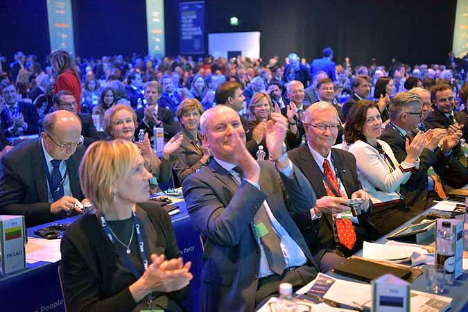 EPP kokousfiiliksiä
