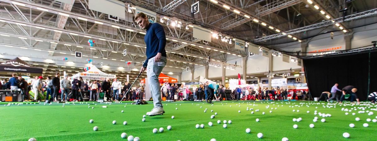 Golfmessut suuri menestys – golfbuumi pyyhkäisi Pasilan yli viikonloppuna
