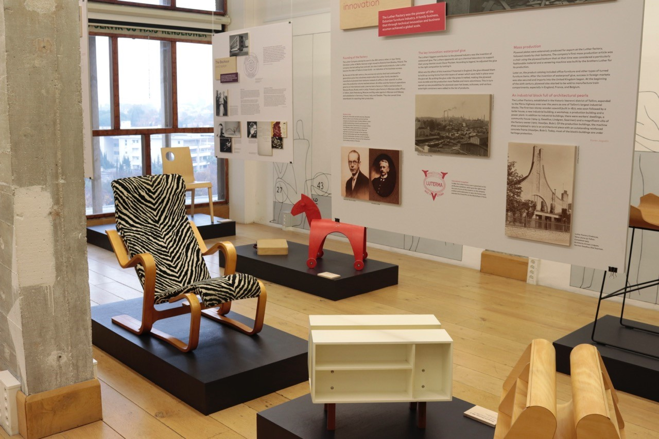 New Habitare exhibition: Luther and Isokon – pioneers of plywood and architecture