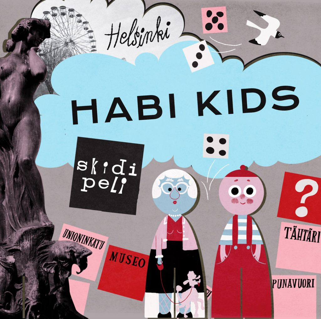 At Habi Kids, visitors can explore Helsinki in the form of a game