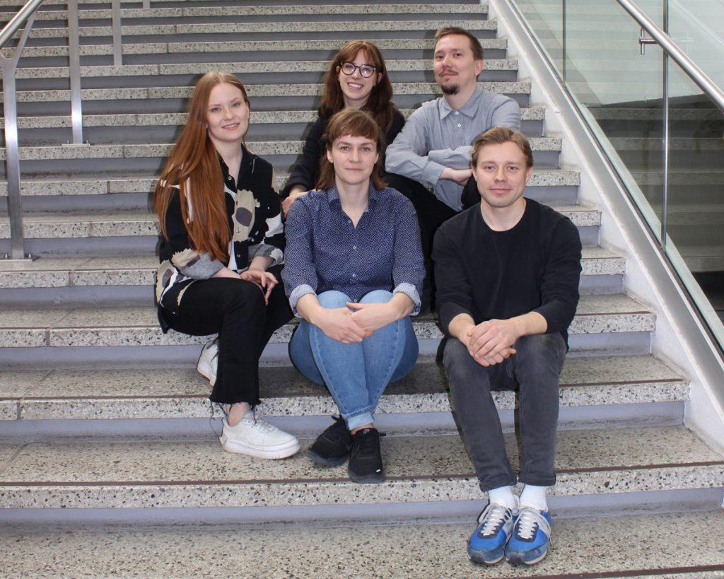Vuoden 2019 Habitare-suunnittelukilpailun voiton jakavat Erik Lindahl sekä Kadri Kallaste ja Pinja Koskelin