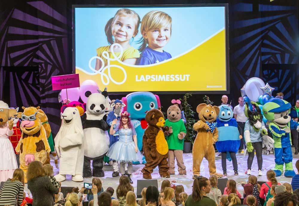 Messukeskus tarjoaa yleisöhittinsä Lapsimessut myös virtuaalitapahtumana