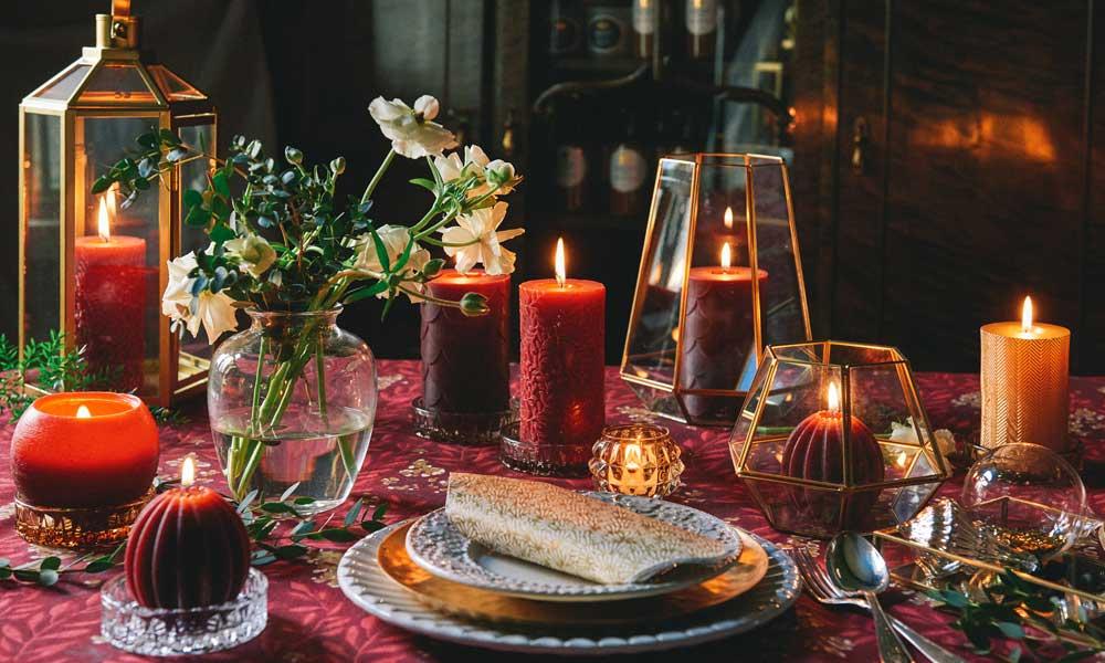 Joulusisustusta väreillä ja tuoksuilla