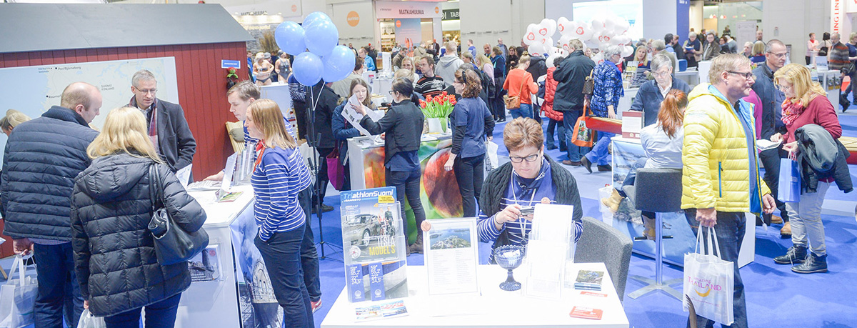At Matka Nordic Travel Fair the travel bloggers can easily find new contacts