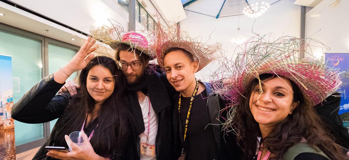 Travel bloggers at Matka Nordic Travel Fair