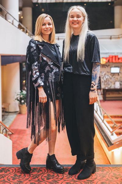 Anni Raasmaja ja Paula Vesala, 2016