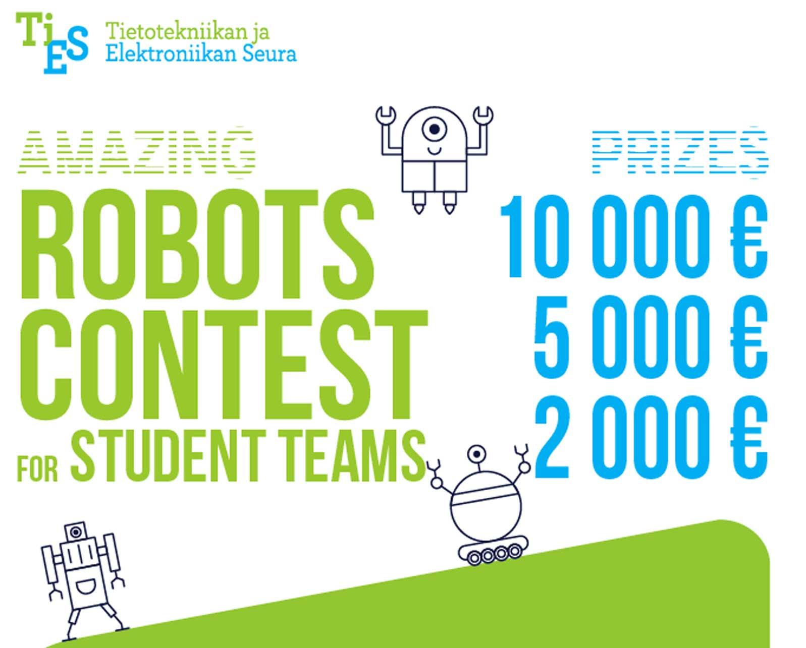 Amazing Robots Contest