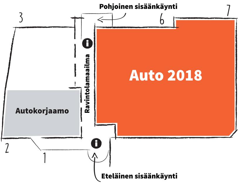 Auto 2018 kartta
