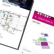 Mobiiliappi ja kartat