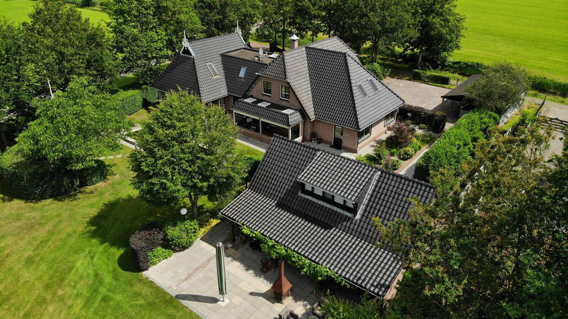 Landelijk wonen in Hoornsterzwaag, Friesland