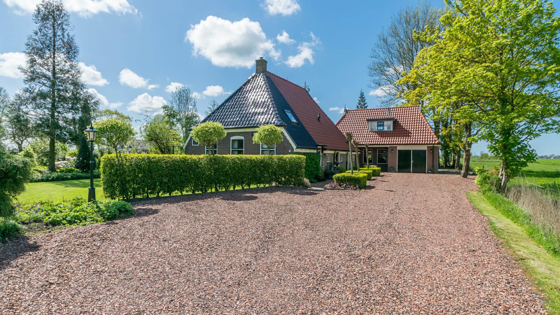 Woonboerderij Terwispel Friesland