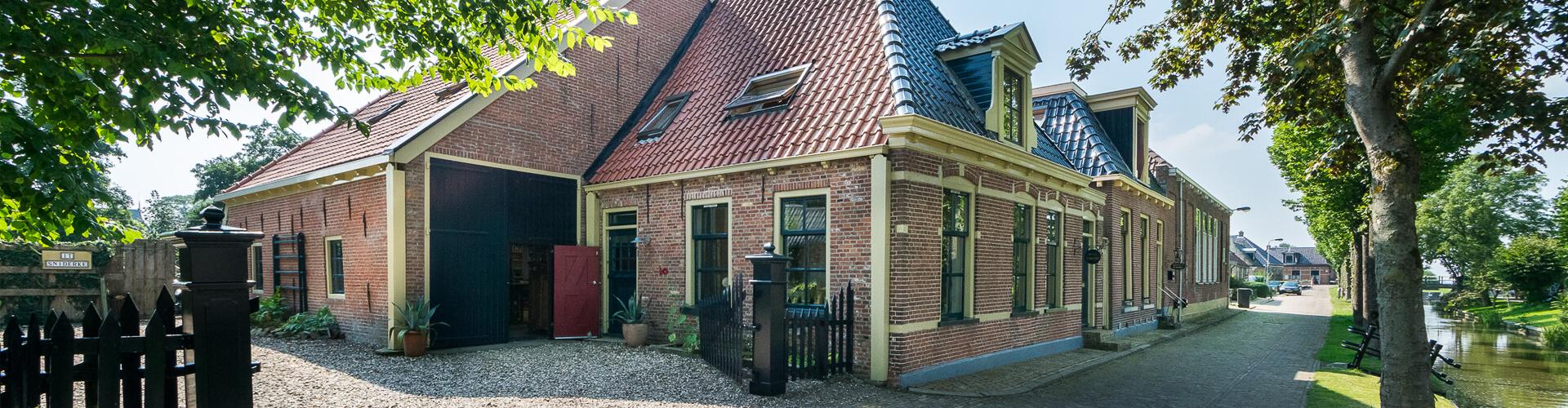 Opkamer (woon)boerderij Friesland