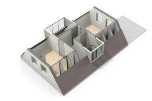 1e verdieping 3D