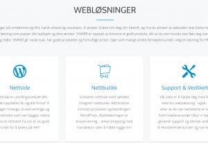 Ny profesjonell nettside eller nettbutikk