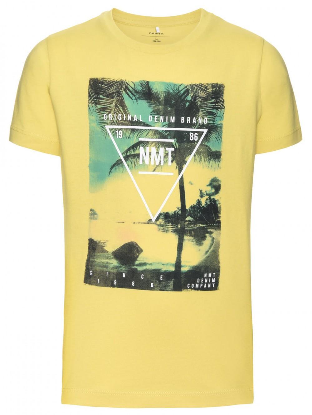 96e31c7d Gul Name It Kids Nitkummer T-skjorte - MioTrend
