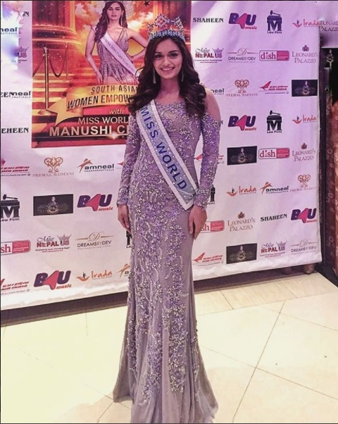 The Official Thread of Miss World 2017 ® Manushi Chhillar - India - Page 4 1
