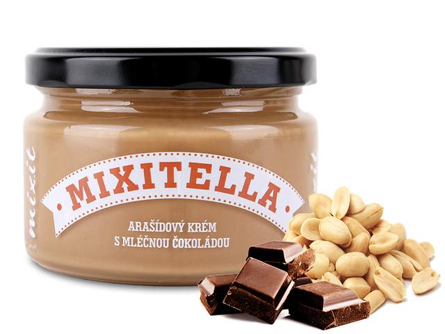 Mixitella - Arašídy s mléčnou čokoládou (3 ks)