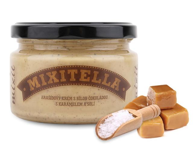 Mixitella - Arašídy se slaným karamelem (3 ks)