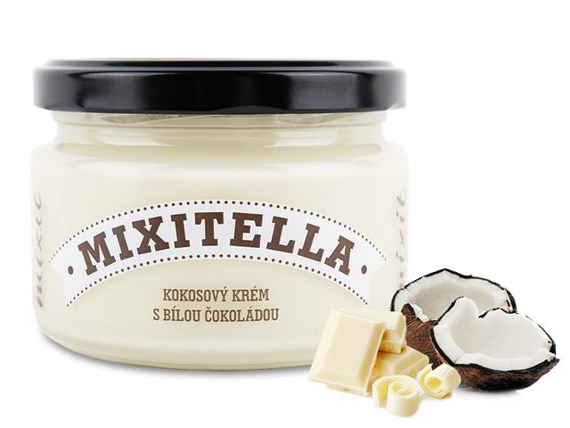 Mixitella - Kokos s bílou čokoládou (3 ks)