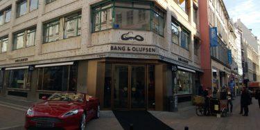 Se billederne: Her er B&O's nye flagskibsbutik i København