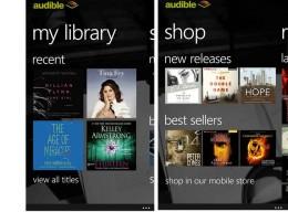 windows phone lydbøger