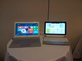 Acer præsenterer ny tablet / laptop hybrid med Windows 8