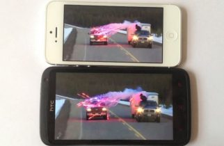 Skærmfight:  iPhone 5 vs. HTC One X+