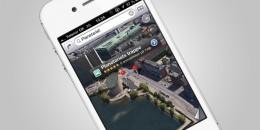 apple maps 3d københavn
