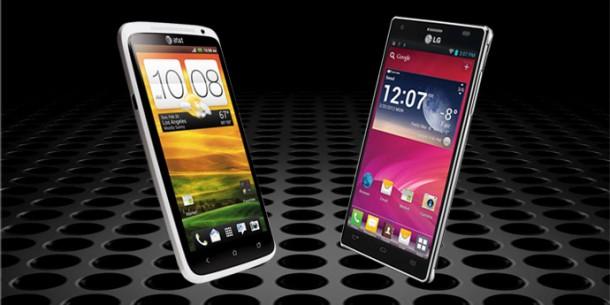 Duel: HTC One X versus LG Optimus 4X HD