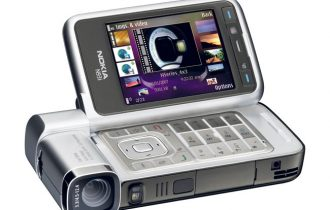 Se iPhones konkurrenter for 5 år siden