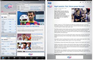 App-guide: Få sportsnyheder direkte på din iPhone eller Android