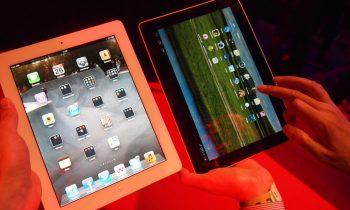 Galleri: Huawei MediaPad vs iPad 2