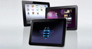 Toshiba AT200 vs. Samsung Galaxy tab 10.1 og iPad 2